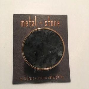metal+stone